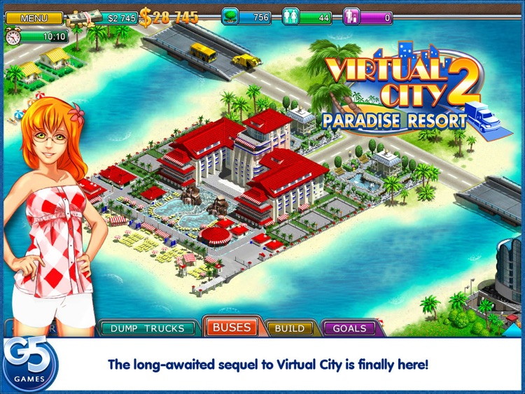 Virtual City 2: Paradise Resort HD screenshot-0