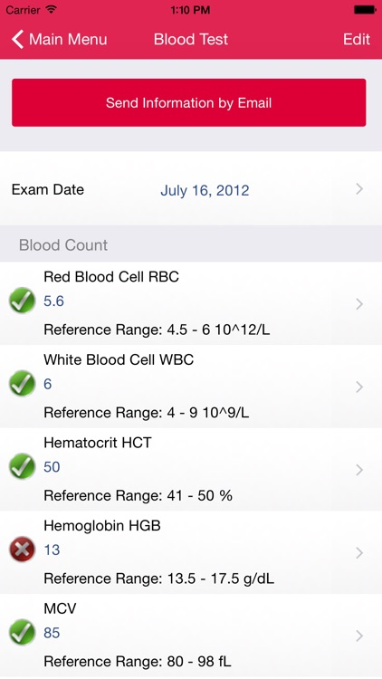 My Blood Test screenshot-3