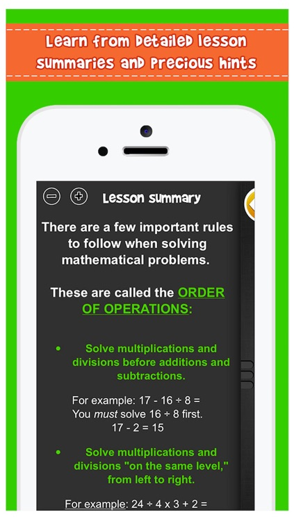 iTooch 5th Grade Math screenshot-4