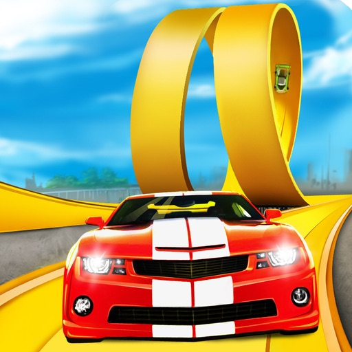 3D Stunt Car Race - eXtreme Racing Stunts Cars Driving Drift Games