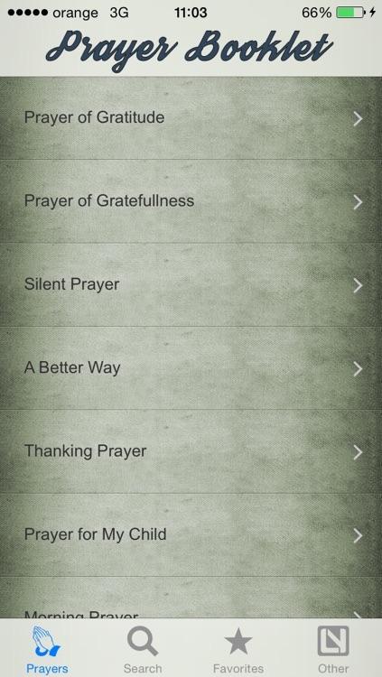 Prayer Booklet screenshot-3