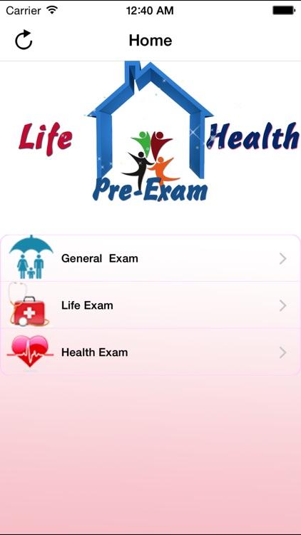 Life & Health Pre-Exam