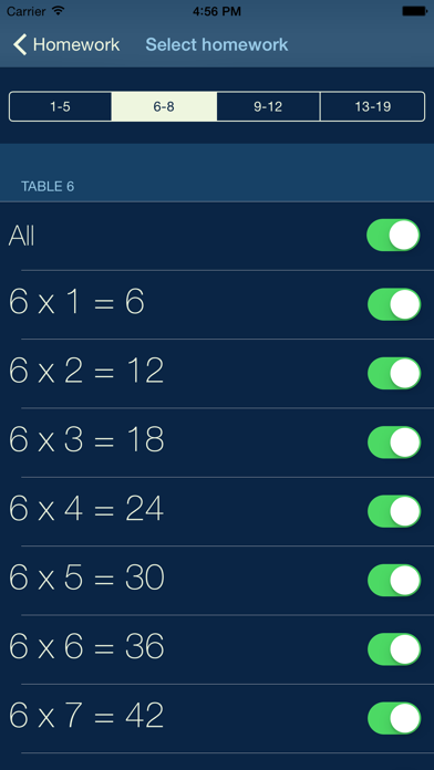 My Multiplication - times tables