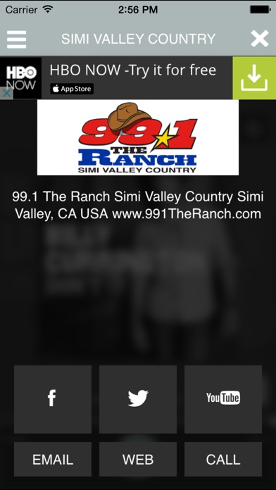 download 99.1 The Ranch apps 1