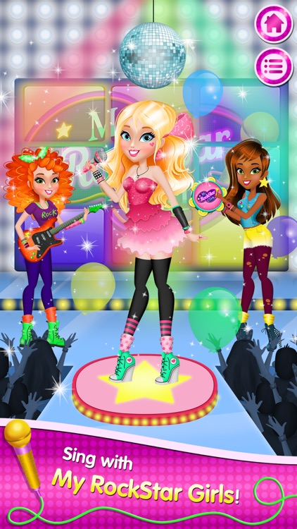 My Rockstar Girls - Party Rock Band screenshot-0