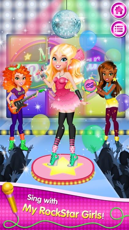 My Rockstar Girls - Party Rock Band screenshot-0