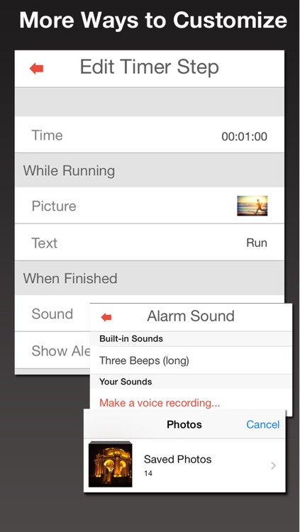 Timewinder Pro – the Ultimate Interval Timer and Task Manager screenshot-4