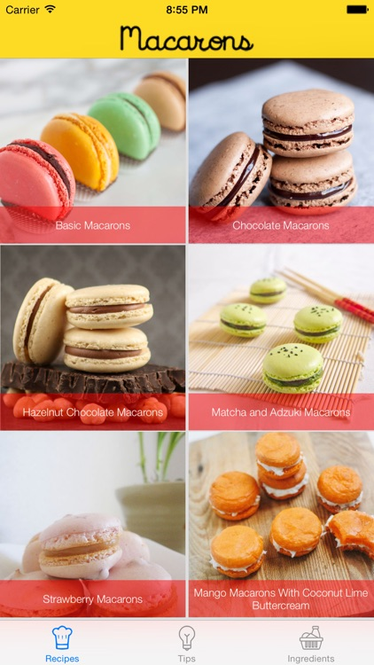 Macaron Recipe Guide screenshot-0