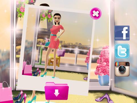 Telecharger Jeux D Habillage Pour Filles Paris Jeu De Maquillage Coiffure De Fille Pour Iphone Ipad Sur L App Store Style De Vie