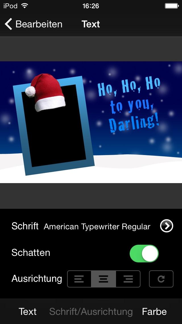 Weihnachtskarten auf dem iPad spielerisch erstellen - Christmas C ...