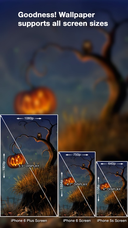 Halloween Wallpapers HD ™ screenshot-3