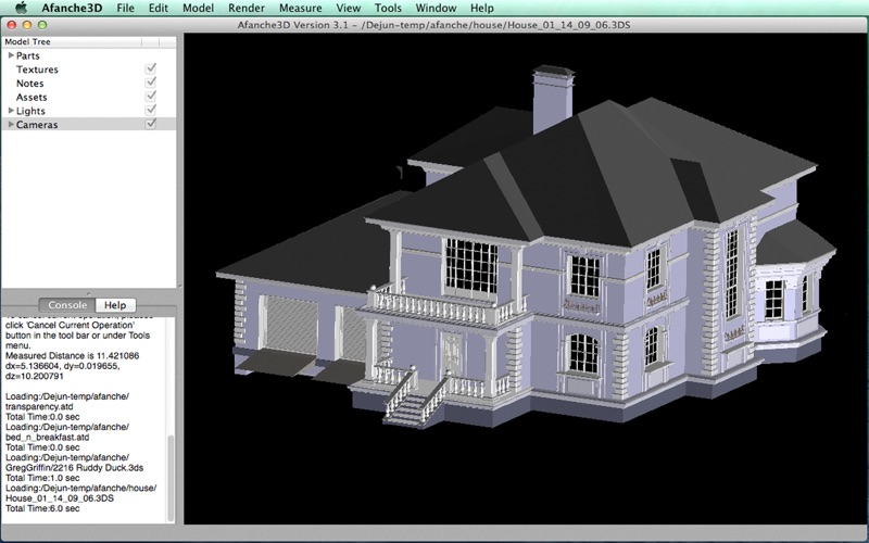 Afanche3D Pro скриншот программы 4