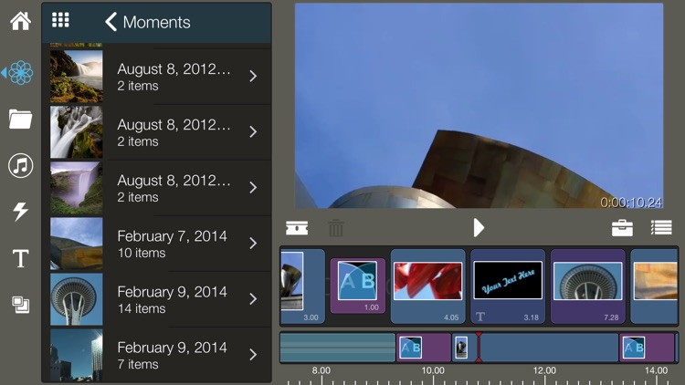 Pinnacle Studio - video editing screenshot-3