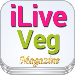 'iLiveVeg: The Magazine For Cooking Light with Mediterranean Diet and Raw Food Recipes for Dinner