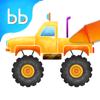 Prachi Sachdeva - Tabbydo Little Trucks Colorbook - Vehicles coloring game for kids & preschoolers artwork