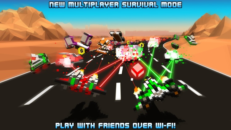 Hovercraft: Takedown - Custom Combat Cars screenshot-0
