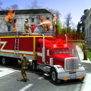 救援消防卡车模拟器游戏:911消防队员 Rescue Firefighter Simulator