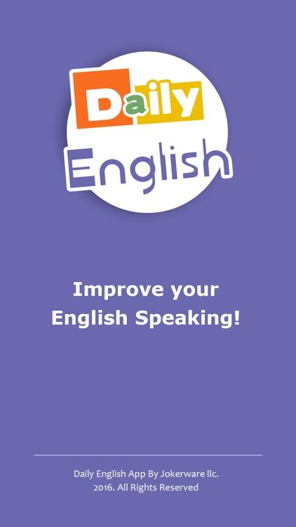 Daily English - Speak English Fluently