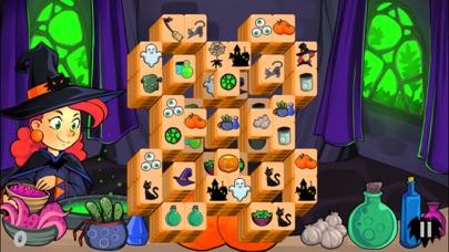 Mahjong Trick or Treat screenshot one