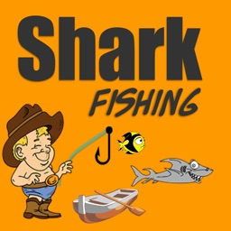 Shark fishing game and big fish  hunter in deep sea underwater world