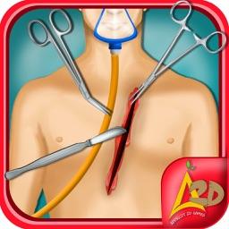 Open Heart Surgery Doctor & Kid & teen Salon Games