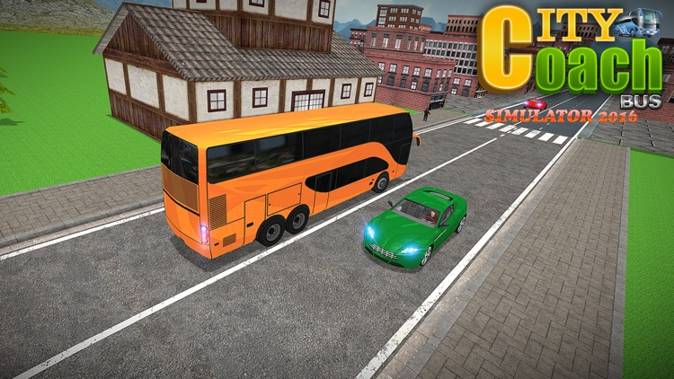 City Coach Bus Simulator 2016 screenshot-4