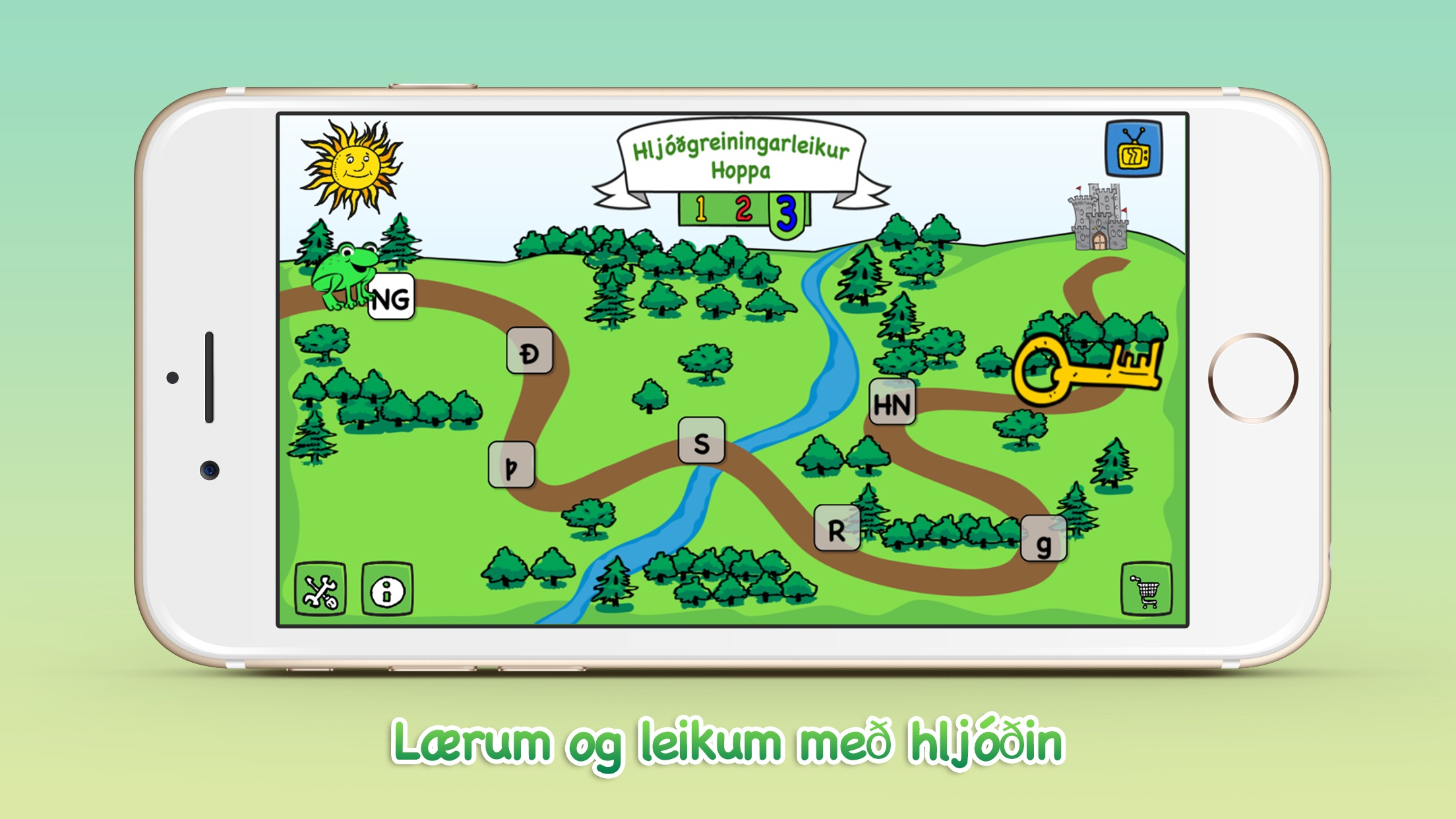 Froskaleikur 3 Screenshot