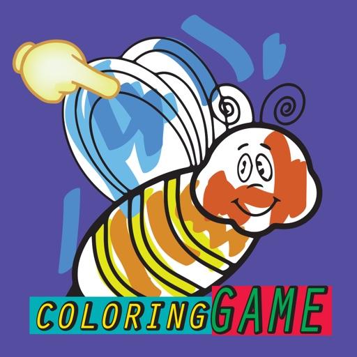 pintar Libro para colorear Abeja para niños App Revisión - Games ...