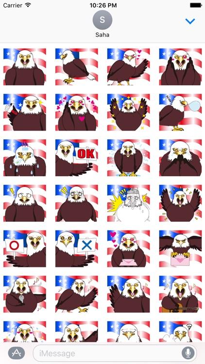 Powerful America Stickers