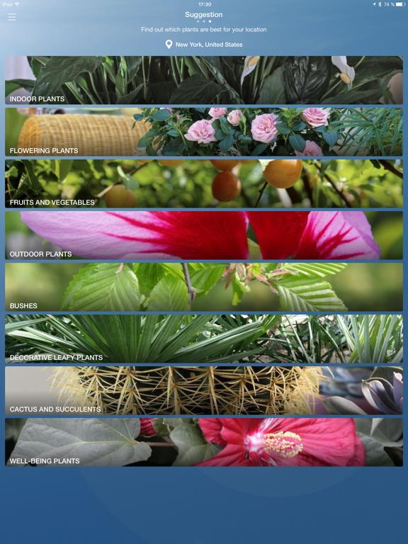 Parrot Flower Power screenshot