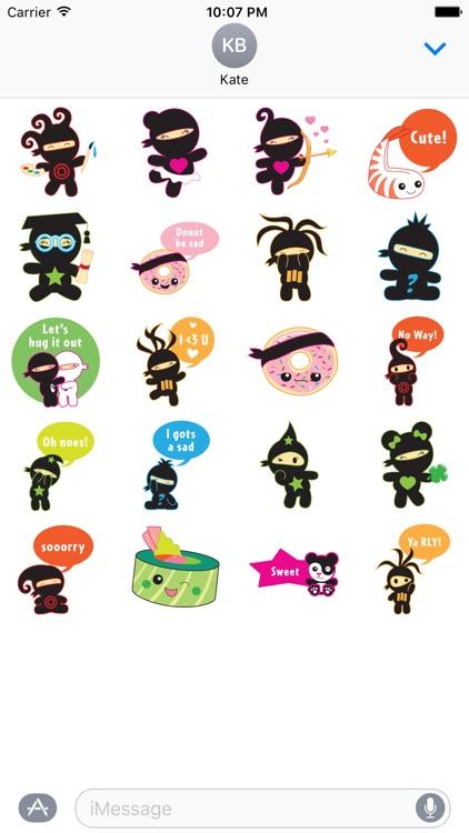 Miso Ninja Stickers