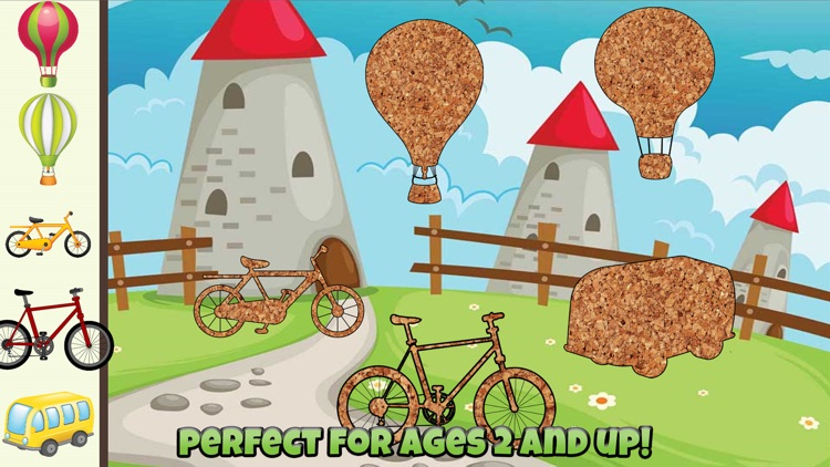 Car and Truck Puzzles For Kids screenshot-3