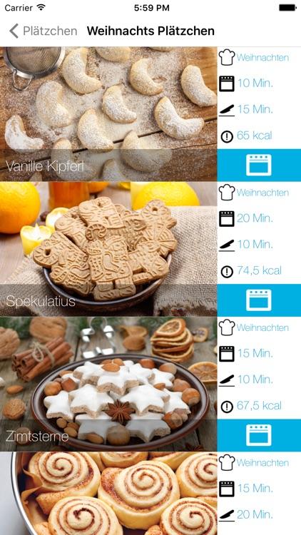 Weihnachtsplätzchen Low Carb - die leckersten Backrezepte screenshot-3