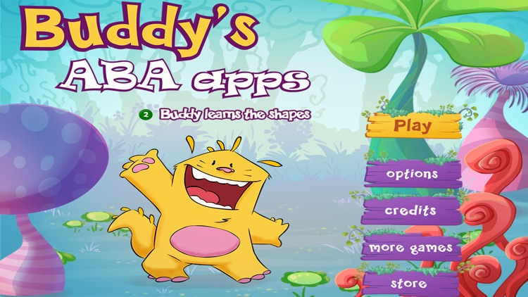 Learn the shapes - Buddy's ABA Apps