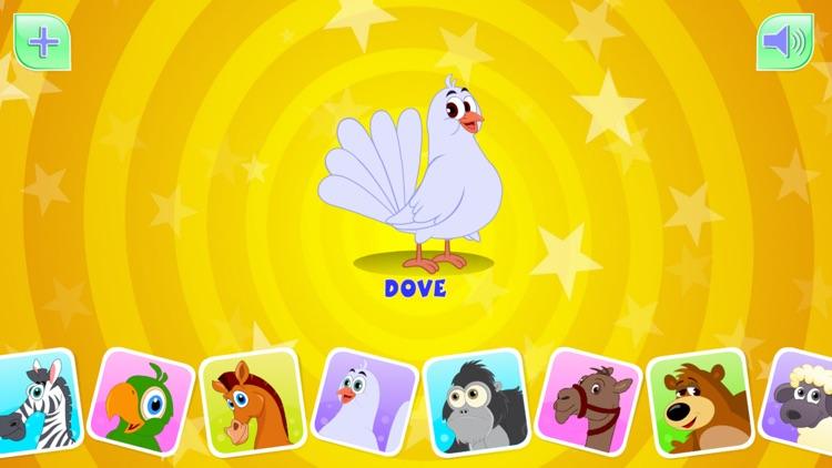 Animal Sounds For Kids-HD screenshot-3