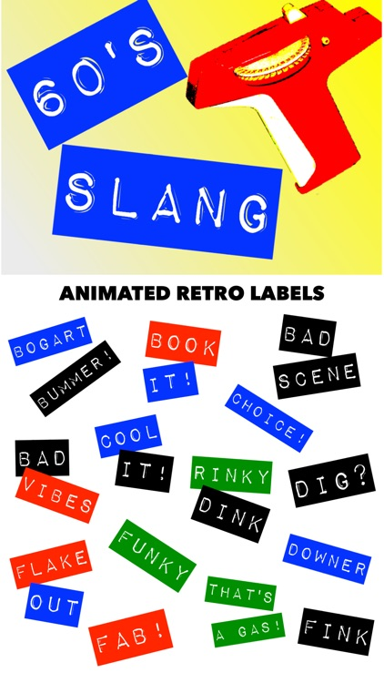60's Slang: Retro Labeler