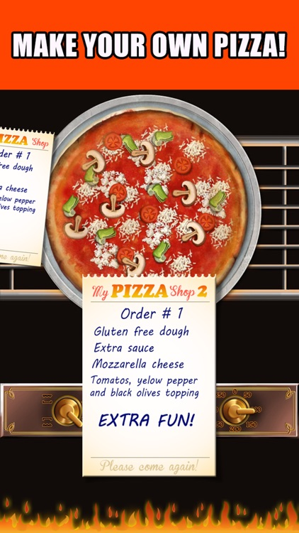 Pizza Maker™ - Make, Deliver Pizzas