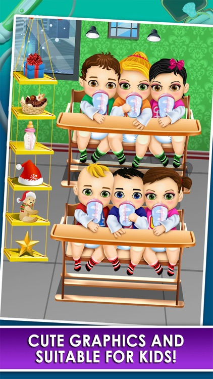 Mom's Doctor Spa Makeover Salon Kid Game screenshot-3