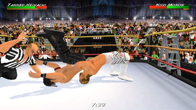 Wrestling Revolution 3D screenshot-0