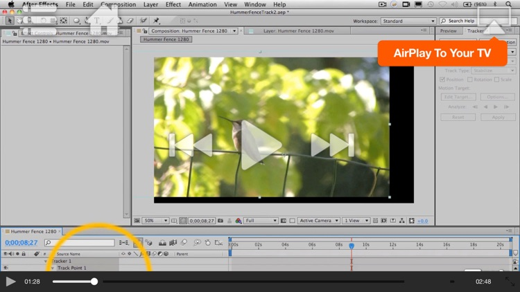 Course For After Effects Motion Tracking