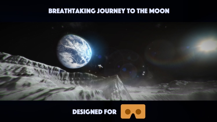 VR Space - Experience Moon on Google Cardboard