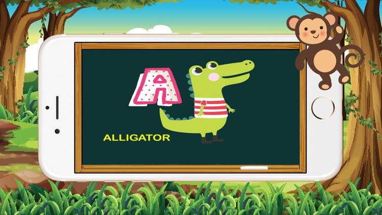 ABC Animals Alphabet Tracing Flash Cards for Kids screenshot-3