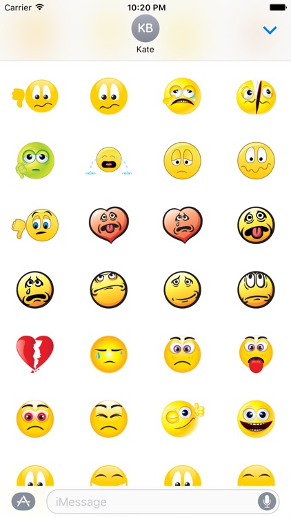 Emoji Stickers Set screenshot-4