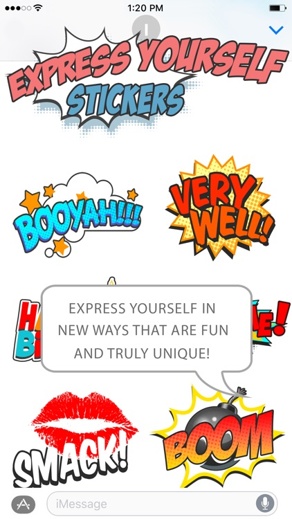 Express Yourself Sticker Pack