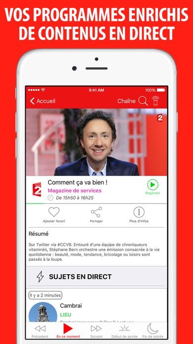 Screenshot #3 pour Télé Poche Guide TV