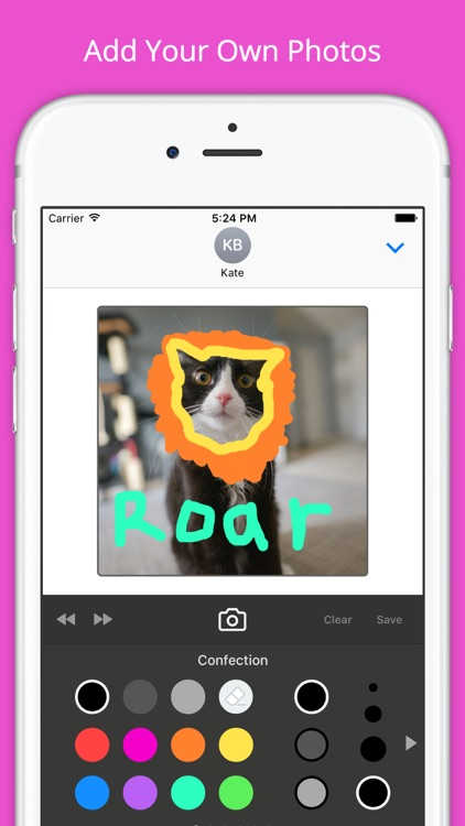Sticky Fingers: Draw Your Own iMessage Stickers screenshot-3