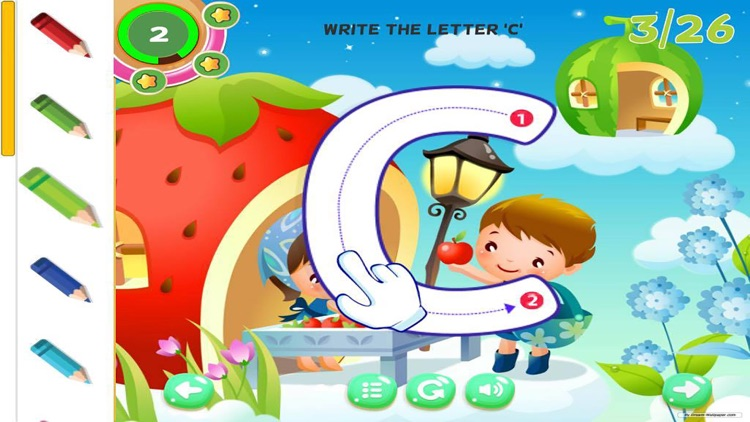 Alphabet Learning for Kids ABC Tracing Letter screenshot-3
