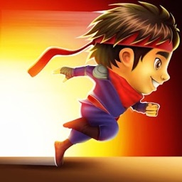 Flying Subway : Ninja Kids Runner 3D