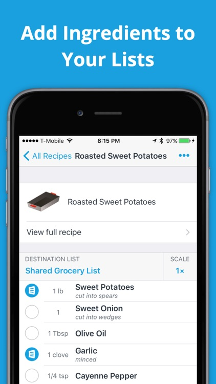 AnyList – Grocery Shopping List & Recipe Manager app image