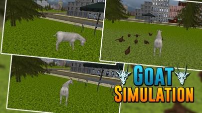 Angry Goat City Simulator 3D screenshot one
